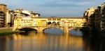 פונטה ואקיו על נהר הארנו בפירנצה