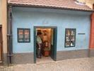 דירתו הקטנה של פרנץ קפקא בסמטת האלכימאים בטירת פראג