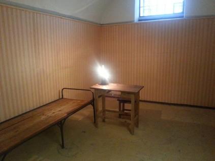 חדר לדוגמא בכלא במבצר פטר ופול