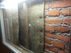 קירות אטומים לרעש בכלא במבצר פטר ופול