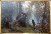 שישקין - בוקר ביער אורנים