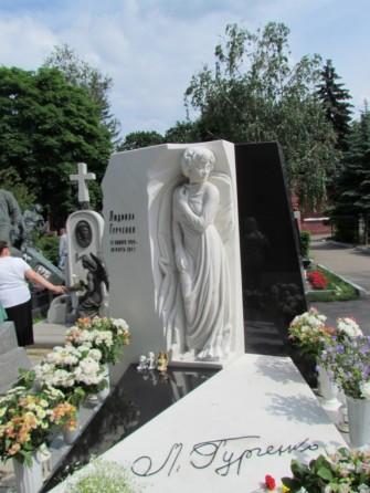 לודמילה גורצ'נקו, שחקנית, זמרת ובדרנית סובייטית.