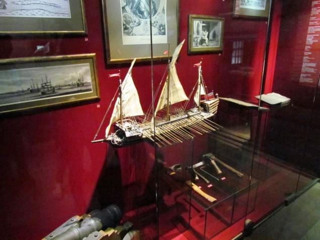 מודל ליצור אניית מלחמה