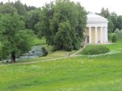 פבלובסק - גן אנגלי סביב הארמון