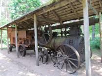 מכונת דיש מונעת קיטור. סוף המאה ה-19