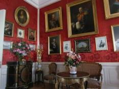החדר האדום בארמון רנדלה