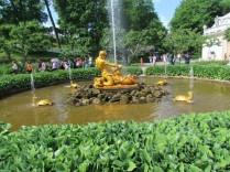 פסלים, מזרקות וצמחיה בפטרהוף