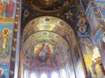 פסיפסים על קירות הקתדרלה