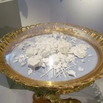 עלי פורצלן במוזיאון הפורצלן