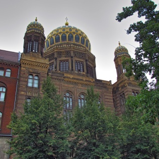 חזית בית הכנסת החדש