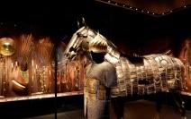 לוחם וסוסו באגף הטורקי