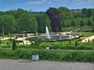 הגן כפי שנראה מהארמון