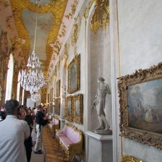 המסדרון בארמון סנסוצ'י