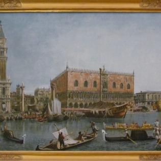 ציור באחד מחדרי הארמון