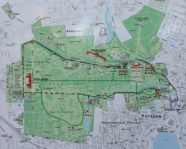 Sanssouci-Park-map