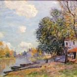 אלפרד סיסלי - מורט: גדות הנהר לואן
