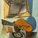 פבלו פיקסו - טבע דומם עם גיטרה