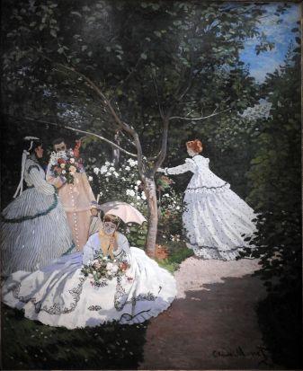 קלוד מונה - נשים בגן