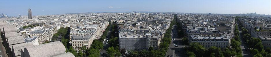 שדרות פריז משער הנצחון