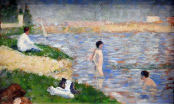 ג'ורג' סירה - תלמיד שחה באנייר