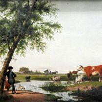 יעקובוס ורימוט (הולנדי) - פרות באתר השתייה