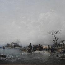 פיטר גבריאל וויקנברג (צייר שוודי תחילת המאה ה-19) השפעת החורף