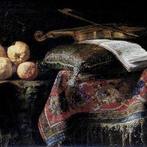 פרנצ'סקו פירוינו - טבע דומם אתרוג עם כינור