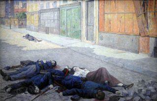 מקסימיליאן לוס - רחוב בפאריז במאי 1871 הידוע גם בעיר