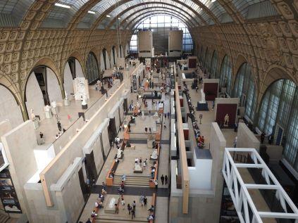 מוזיאון אורסיי, ממרומי הקומה החמישית