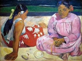 פול גוגן - נשים בטהיטי ידוע גם כעל החוף