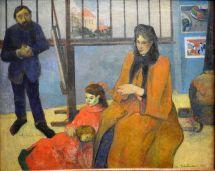 פול גוגן - סטודיו לציור של שוּפַנֶקֶר