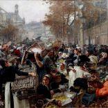 לאון לֵרמיט - פריז 1900 , חזרתם של הַאלֵה לקולקציה