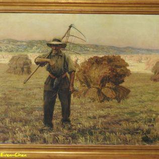 קרלוס רייס, נוף כפרי 1892