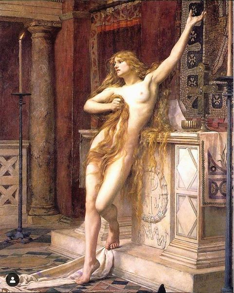 Hypatia - 1885 - Charles William Mitchell